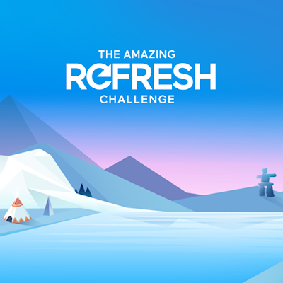 Congratulations to our winners of The Amazing Refresh Challenge Contest: