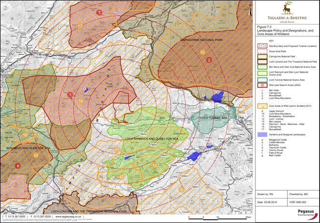 TALLADH-A-BHEITHE: POLICY & DESIGNATION, AND CORE AREAS OF WILDLAND