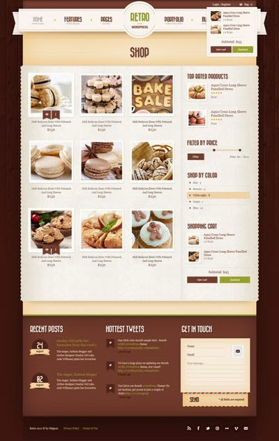 retro-wordpress-theme