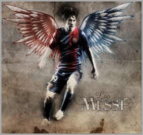 messi angel
