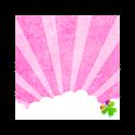 GO Launcher EX Theme Cloudy p logo