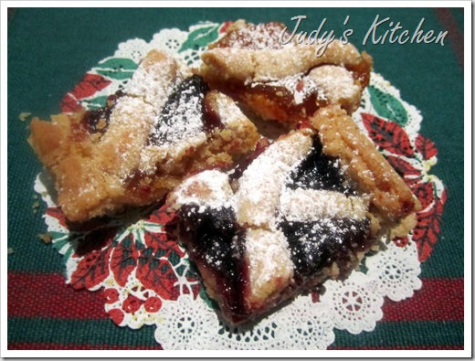 cherry linzer bars (2)