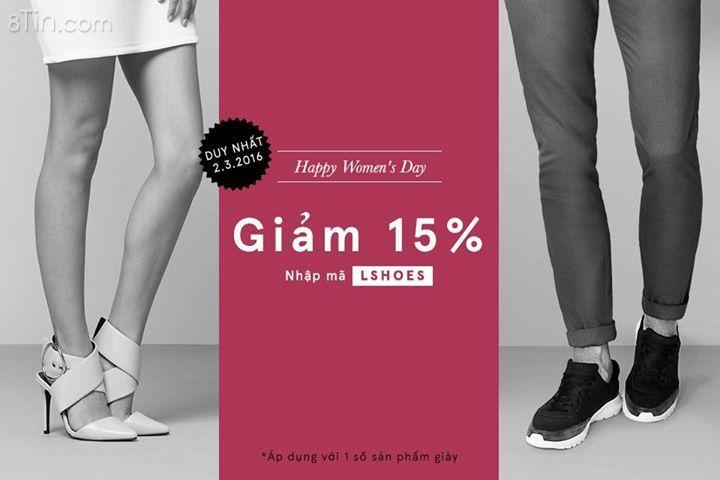 [HAPPY WOMEN'S DAY] FOR SHOES LOVERS Nhập mã LSHOES để được giảm