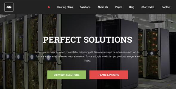 Pgl Hosting Html Template Flat Design