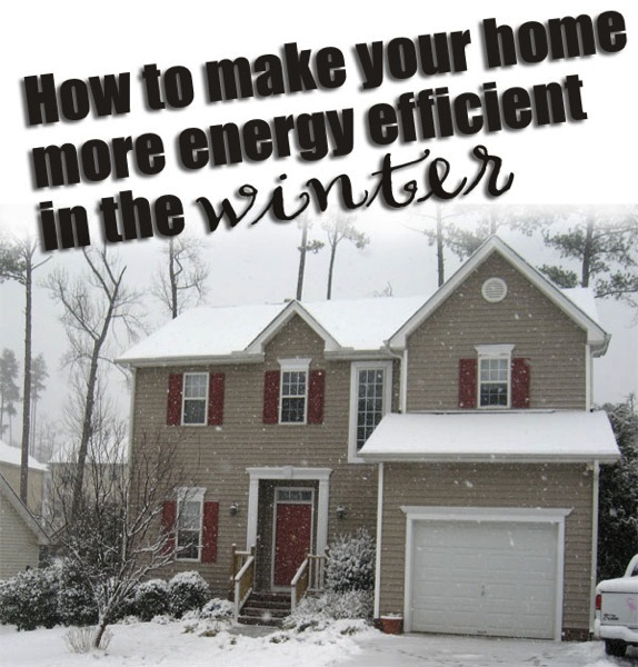 Make your house energy efficient