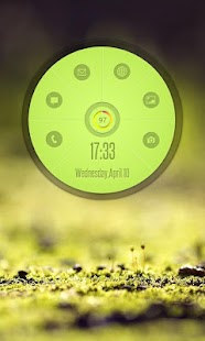 Circle Launcher HD UCCW SKIN- screenshot thumbnail