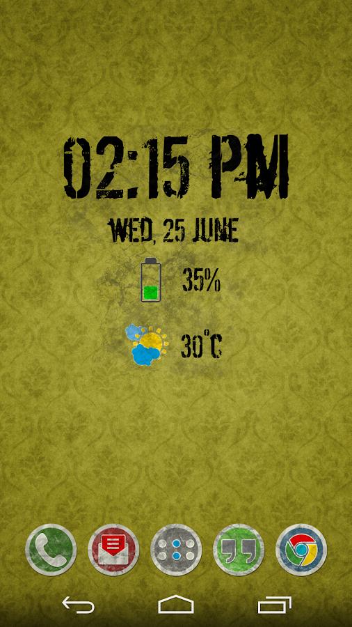 Rugo Widgets - screenshot