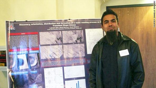 Nepali Student Lujendra Ojha Spotted Possible Water on Mars