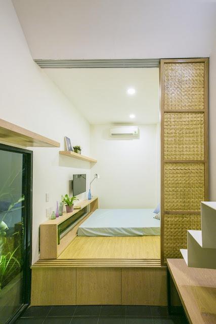 Nhà nhỏ thoáng mát tại Sài Gòn
