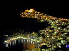ASTYPALAIA NIGHT VIEW