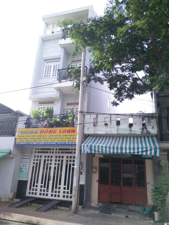 Bán nhà mặt tiền Nội Bộ Đường Nguyễn Ngọc Nhựt Quận Tân Phú 01