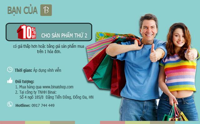 Chính sách bán hàng công ty Binai