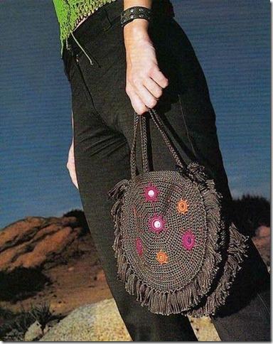 Bolso Circular Crochet Patron
