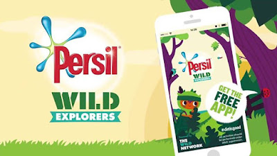 The NEW Persil Wild Explorers app is packed with over 100 fun