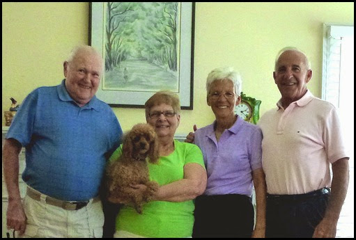 Ron, Thelma, Lucy, Bill and Nancy