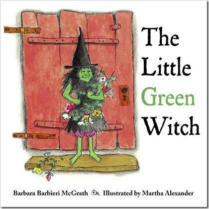the little green witch