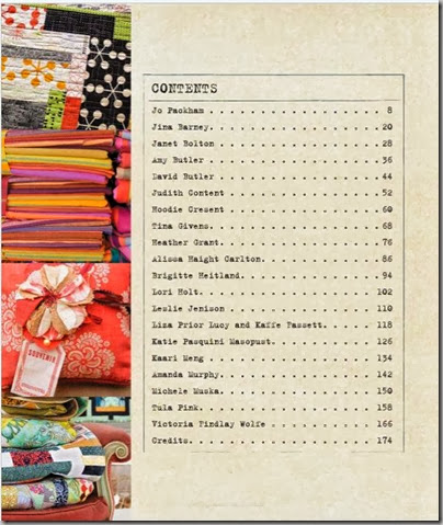 WWC Quilters book content