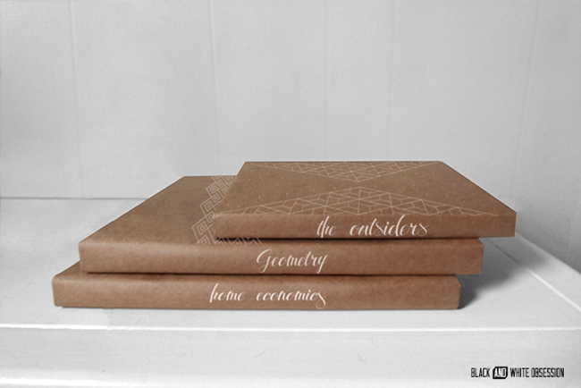 Back-to-School-Geometric-Paper-Bag-Textbook-Covers-Spines