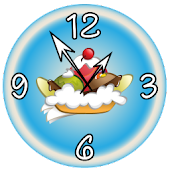 Sweet Ice Cream Clock