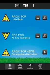 RADIO TOP - screenshot thumbnail