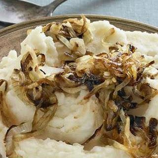 Caramelised Onion Mashed Potatoes.