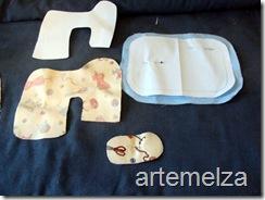 artemelza - agulheiro máquina de costura -