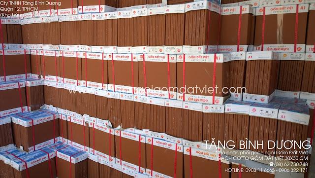 Gạch đỏ Gốm Đất Việt