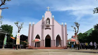 Nhà thờ Phước Kiều - Thanh Chiêm - nơi được xem là cái nôi của chữ Quốc Ngữ