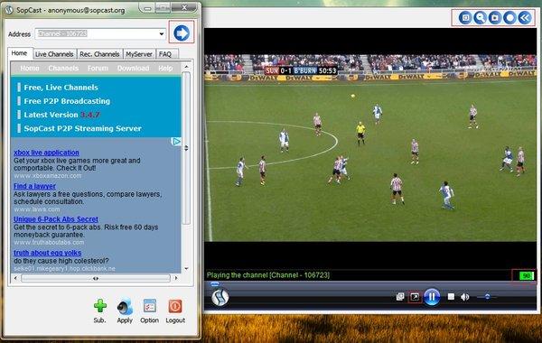 Sopcast tv download.