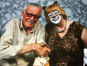 PurrKayla and Stan Lee
