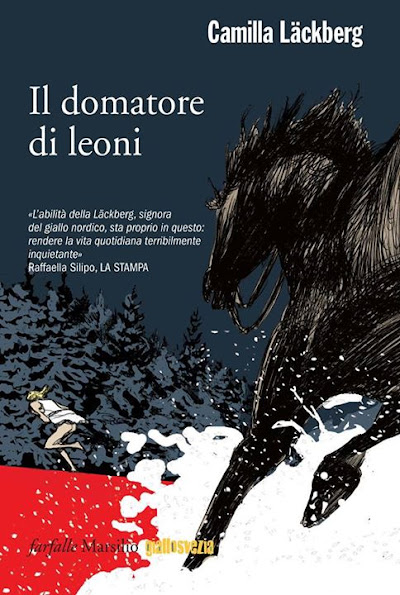 The Italian cover for Il domatore di leoni LejontämjarenThe Ice Child looks