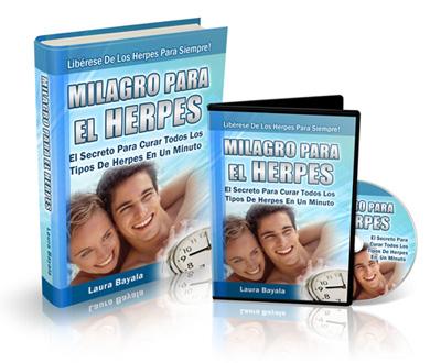 MILAGRO PARA EL HERPES [ Curso Guía ] – El secreto para curar todos los tipos de herpes en un minuto y para siempre