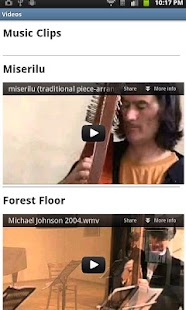 Harpist Michael Johnson- screenshot thumbnail