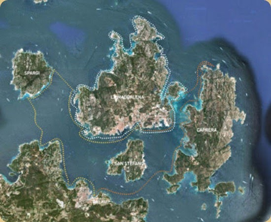 Archipelago of La Maddalena and Islands of Bocche di Bonifacio.6