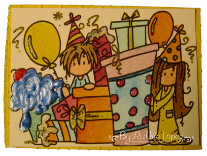 Bugaboo digi stamps - 613 Avenue Create - Gift box