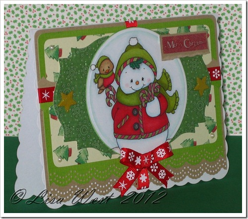 CD Snowman Candy Cane Bouquet (1)