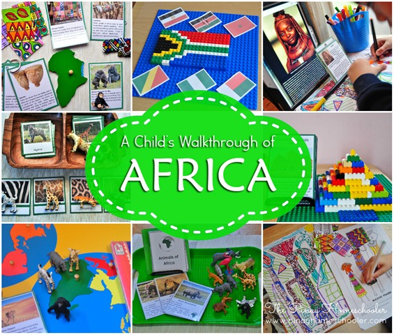 A Continent Study of AFRICA for Kids