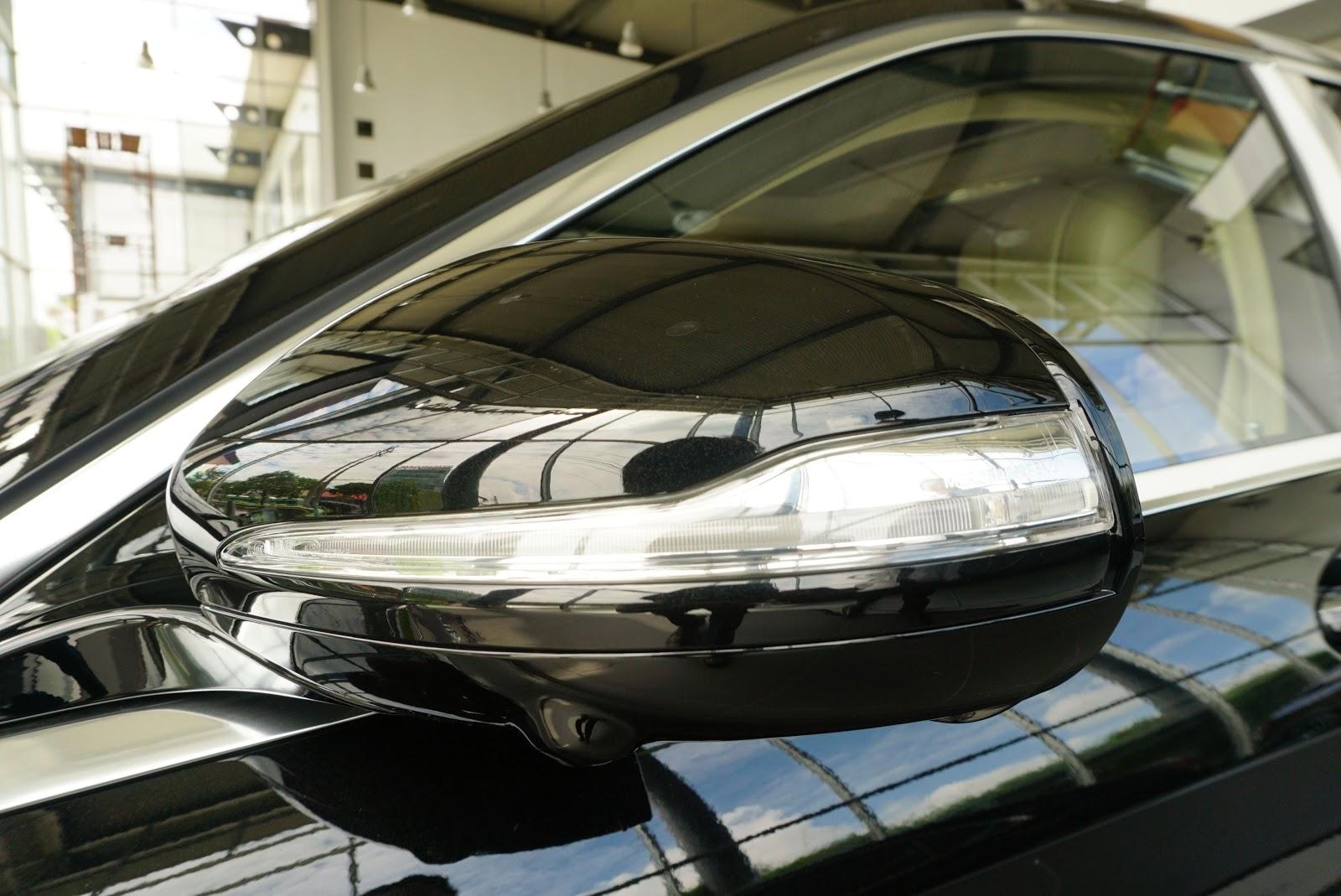 Ngoại Thất Xe Mercedes Benz S600 MAYBACH Màu Đen a07