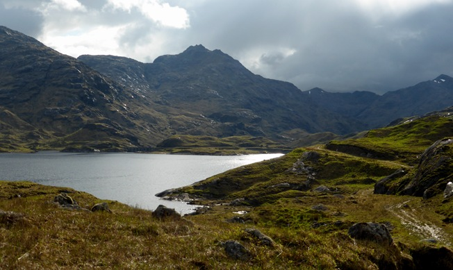 LOOKING BACK, LOCH QUOICH