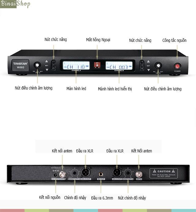 Takstar W80-UHF