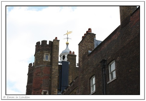 St James's Palace Weather Vane