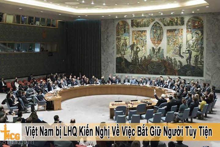 TNCG: Trong thông cáo từ Hiệp Hội Nhân Quyền Thế Giới, Liên