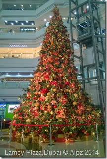 Christmas tree -Lamcy Plazal,dubai