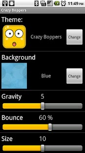 Crazy Boppers Lite LWP - screenshot thumbnail