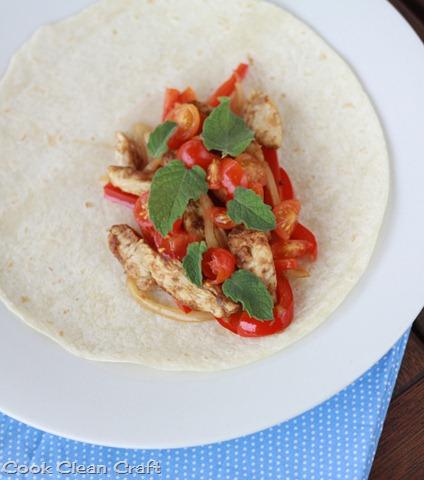 Quick and easy chicken fajita recipe