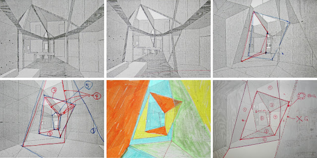 phác họa của kiến trúc sư