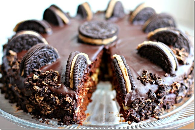 Chocolate Chip Cookie Dough Oreo Cake