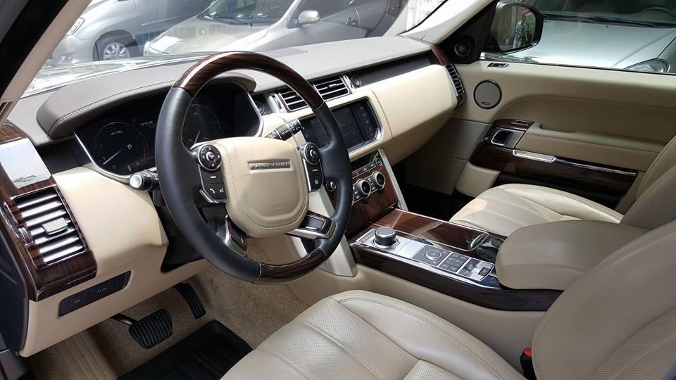 Nội thất xe Range Rover HSE 04