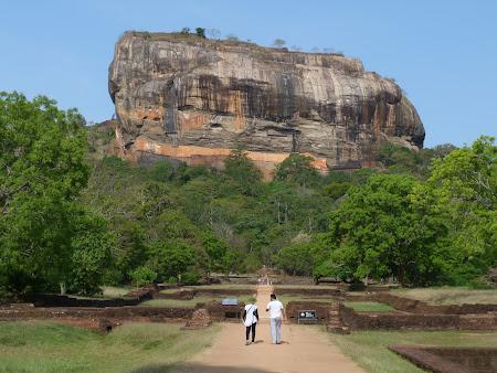 Imagini Sri Lanka: piatra de la Sigirya