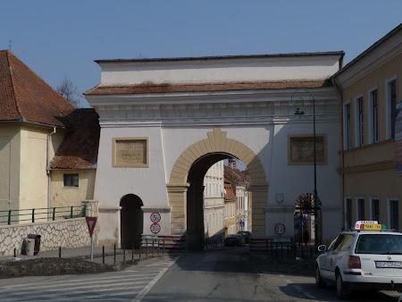 Obiective turistice Romania: Poarta Schei